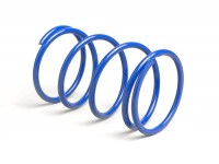 Gegendruckfeder -BGM PRO- Piaggio 50 ccm, Peugeot 50 ccm, GY6 50ccm, Gilera 50ccm, Honda 50ccm, Kymco 50ccm, Vespa 50ccm - +100% Blau