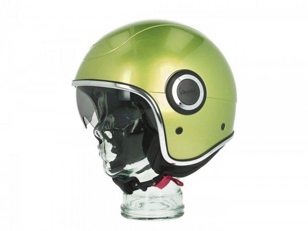 Helmet -VESPA VJ1- open face helmet, Verde Speranza (341/A) - S (55-56cm)