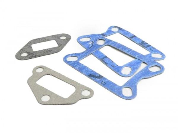 Gasket set reed valve intake -MALOSSI direct intake 136cc- Vespa V50, PV125, PK S/XL