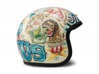 Helmet -DMD Jet Vintage- open face helmet, vintage - Circus - L (59cm)