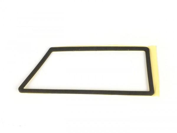 Indicator casing/frame gasket -SIEM, self-adhesive- Vespa PX80, PX125, PX150, PX200, T5 125cc - rear - lhs