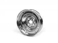 Cerchio ruota -VESPA 1.80-9 pollici, acciaio - Vespa (tipo V50 9 pollici - 4 fori all''interno) - cromato
