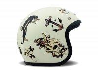 Helmet -DMD Jet Vintage- open face helmet, vintage - Old School - XS (53-54cm)