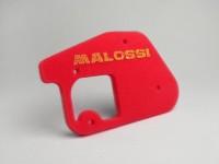 Luftfiltereinsatz -MALOSSI Red Sponge- Minarelli 50 ccm vertikal - MBK Booster 50 cc, Stunt 50 cc, Spirit 50 cc, Yamaha BW's 50 cc, Spy 50 cc, Zuma 50 cc - BOOSTER, BUMP50, BWS50, SLIDER50, SPY, SR50 (-1994), STUNT, ZUMA50, AMICO