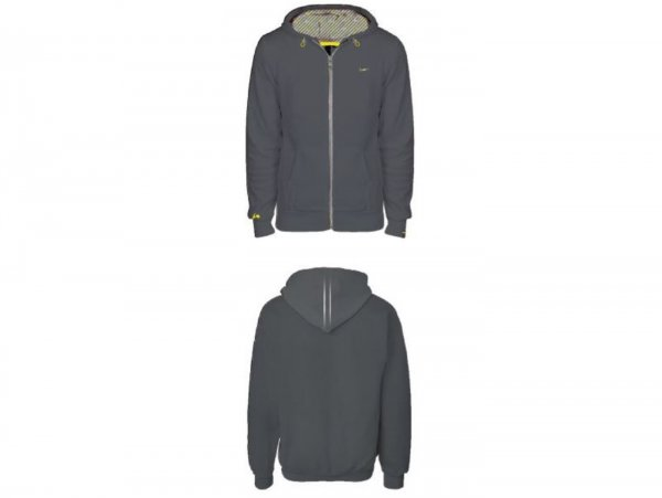 """Hoodie -VESPA- Woman """"Graphic Collection"""" - grey - L"""