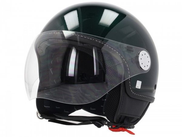 Helmet -VESPA Visor 3.0- green bosco (349/A) - XL (61-62cm)