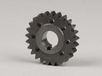 Ingranaggio motore -DRT Gear Flame 2.56->2.76- Vespa V50, PV125, ET3, PK50, PK80, PK125 - 25 denti