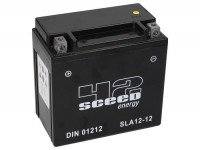 Batterie -Gel SCEED 42 Energy- SLA12-12 - 12V, 12Ah - 152x88x147mm