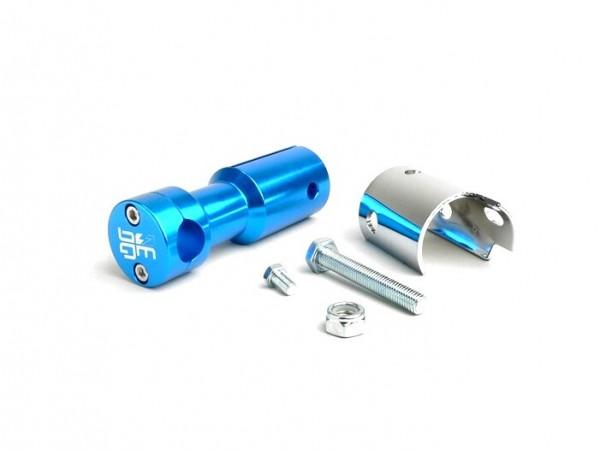 Halter für Lenker -CLASSIC- Peugeot Speedfight - Blau