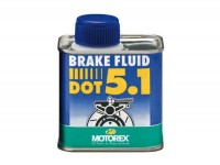 Brake fluid -MOTOREX- DOT5.1 - 250ml