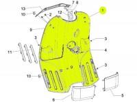 Beinschildinnenverkleidung -PIAGGIO- Vespa S (ZAPC38, ZAPM44, ZAPM68)
