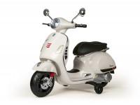 Scooter per bambini -Vespa GTS 125-300- elettrico - bianco