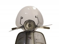 Parabrezza -AMS CUPPINI Bubble- Lambretta TV special - media altezza, con staffe - nero