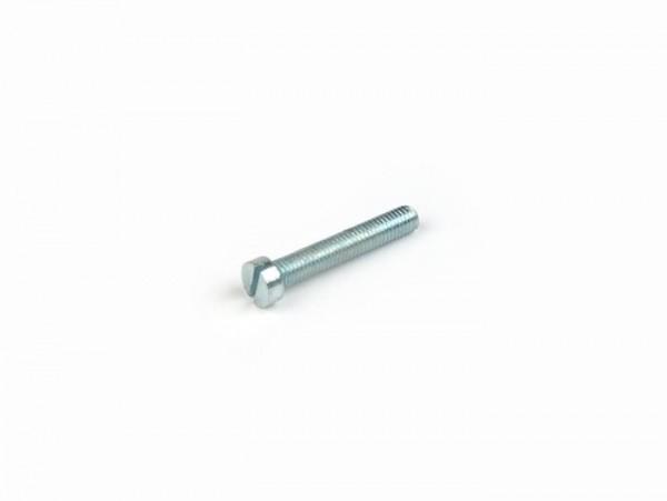 Tornillo -DIN 84- M5 x 30 tornillo ranurados (utilizado para filtro de aire Vespa SI carburador delantera)