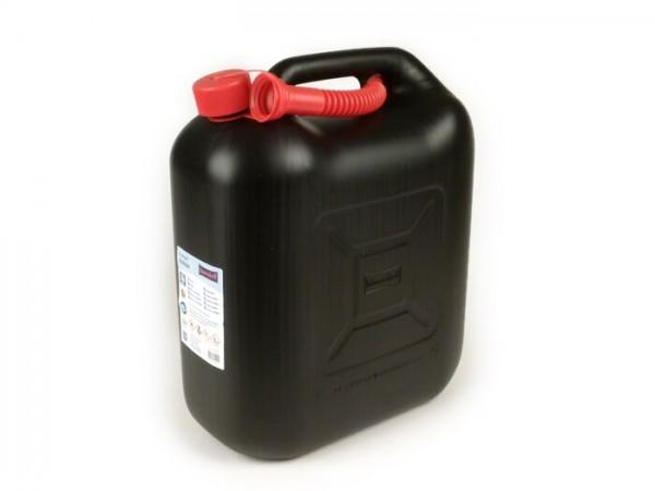 Bidón de gasolina 20l -HÜNERSDORFF- negro