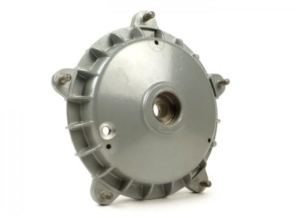 """Tambor de freno trasero 10"""" -LML / STELLA con agujero para controlar las zapatas- Vespa PX (1984-), T5 125cc - aro de retención Ø=30mm"""