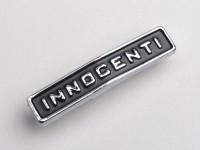 Badge frame rear -LAMBRETTA- Innocenti - DL, GP