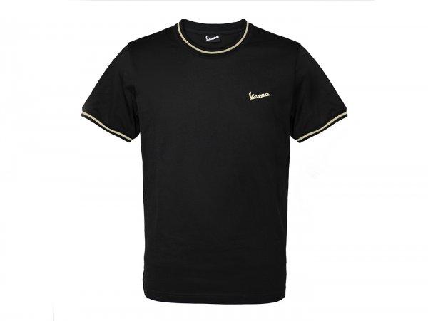 "T-Shirt -VESPA ""75th Anniversary""- nero - M"