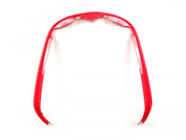 Leg shield beading -MOTO NOSTRA- Vespa Primavera (2013-), Vespa Sprint (2013-) - red