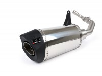 Exhaust -REMUS (with catalyser) RSC Ø=65mm- Vespa Primavera 125-150ie 3V iGet (2016-, Euro 4), Vespa Sprint 125-150ie 3V iGet (2016-, Euro 4) - silver stainless steel