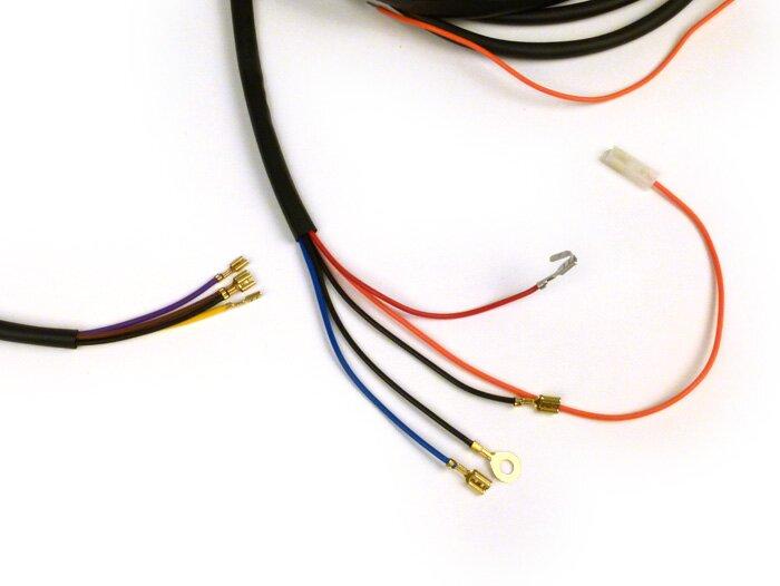 Wiring loom for conversion (without light switch) -BGM PRO, Vespa AC on ag pro, ms pro, im pro, hr pro, gt pro, cf pro, jm pro, ki pro, ac pro, no pro,