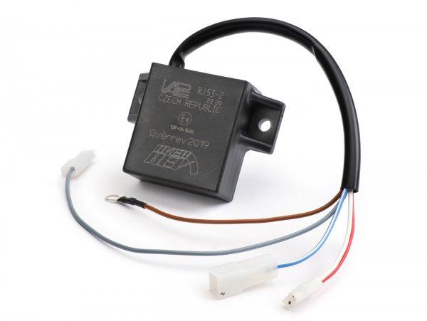 Unidad de control - CDI -OVERREV- para encendido Overrev/Vape - Vespa/Lambretta