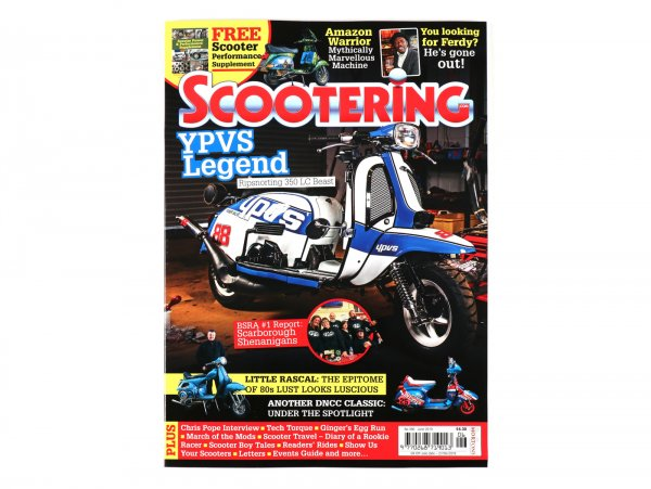 Revista Scootering - (396) junio 2019
