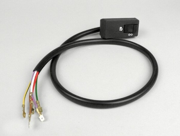 Blinkerschalter -VESPA- PX80, PX125, PX150, PX200 (ab Bj. 1984) - 6 Kabel