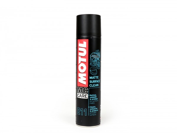 Cleaner -MOTUL Matte Surface Clean SPRAY E11- dry-cleaner for all matt surfaces/sheets - 400ml