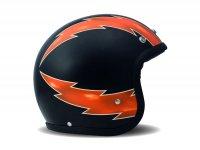 Helmet -DMD Jet Vintage- open face helmet, vintage - Thunder - S (55-56cm)