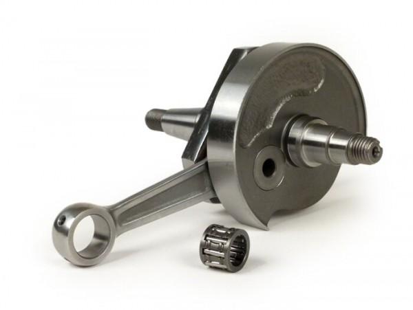 Kurbelwelle -BGM PRO Standard (Drehschieber)- Vespa PK75, LML SE (Ø 24mm Konus) - auch passend für V50, PK50, PK50 XL, PK50 XL2 (mit Umrüstlager 6005)