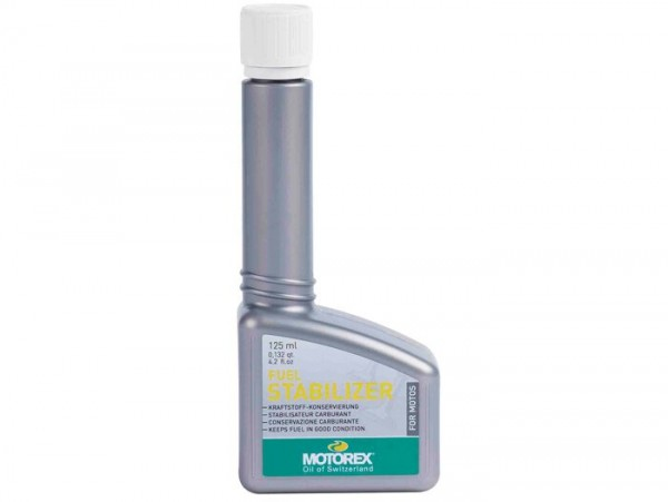 Fuel stabilizer -MOTOREX Fuel Stabilizer- 125ml