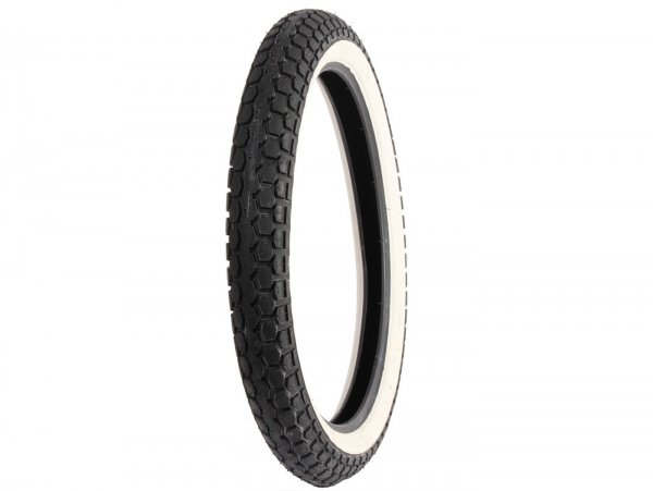 Tyre -Continental KKS 10, white wall- 2.00-19 / 2-19 (old size marking 23x2.00) 24B TT