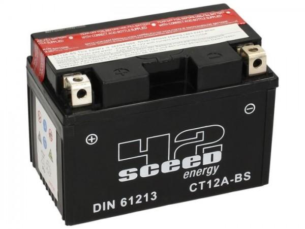 Batterie -Wartungsfrei SCEED 42 Energy- CT12A-BS- 12V, 11Ah - 152x88x106mm (inkl. Säurepack)