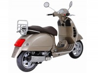 Exhaust -REMUS slip-on- Vespa GTS 125 ie (2009-), GTS 250 (2005-), GTS 300 ie (2008-), GTV 250 (2008-) - stainless steel, silver