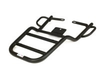 Topcase support rear (with passenger handles) -FA ITALIA- Vespa PX80, PX125, PX150, PX200, VNB4-6T, VBB2T, Super, Sprint150, TS125, GT125, GTR125, GS160 / GS4, SS180, Rally180, Vespa Rally200 - black