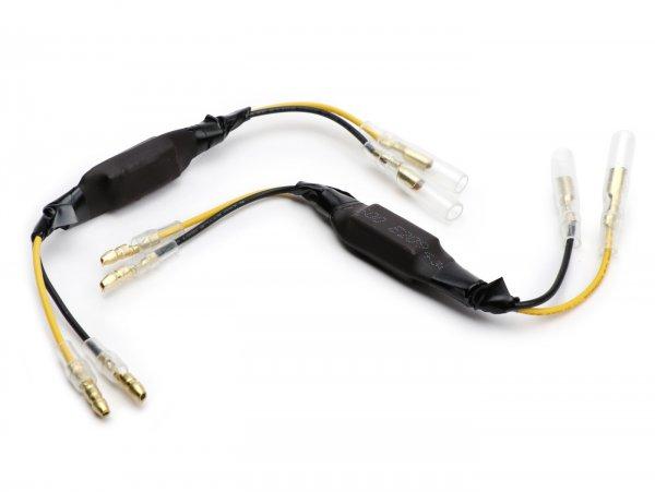 Vorwiderstand-Set für LED-Blinker -27 Ohm/5W- Universal
