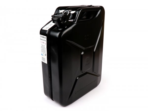 Bidon 20l -FA ITALIA, métal- noir (RAL9005)