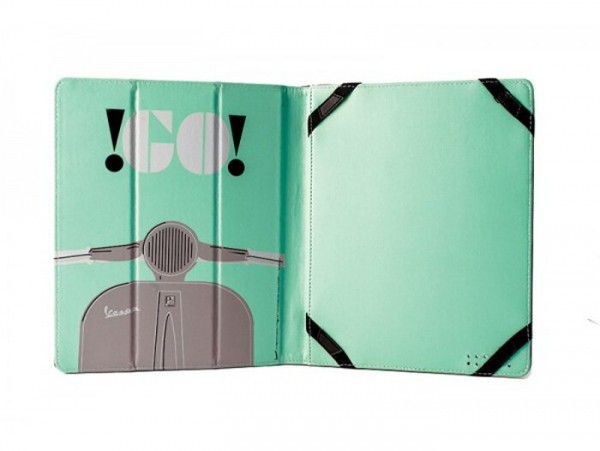 "iPad/Tablet PC cover -VESPA, 20x24x1.8cm- ""Go Vespa"""