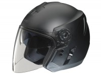 Casco -FM-HELMETS RS41 (Made in Italy)- casco jet nero opaco - XXL (63-64cm)