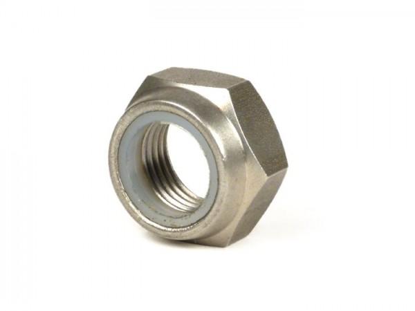 Self-locking nut flat type -CASA LAMBRETTA similar to DIN 439- M16 x 1.50 (used for engine bolt Lambretta LI, LIS, SX, TV, DL, GP)
