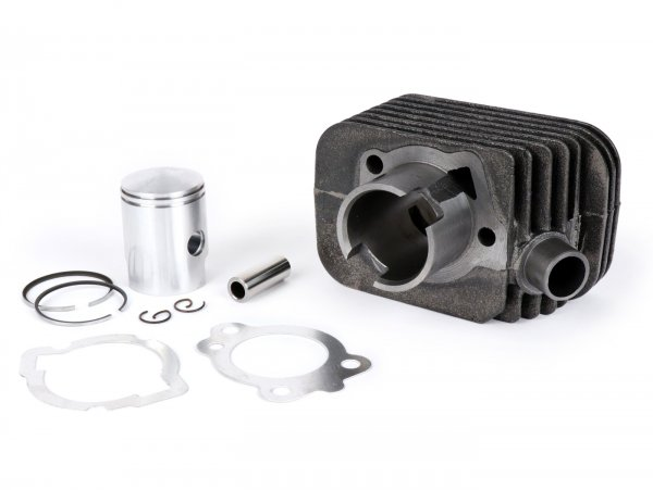 Cylinder -OEM QUALITY 50 cc Standard Ø38.2mm, exhaust port Ø22mm- Piaggio Ciao (gudgeon pin = Ø 12mm) - with gaskets