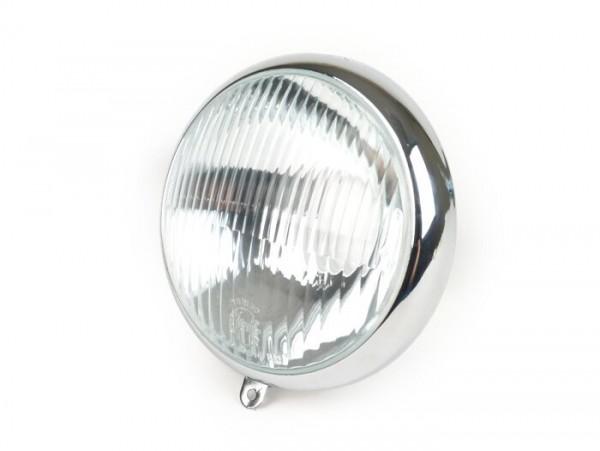 Scheinwerfer -SIEM, Ø=105/115mm (Glas/außen)- Vespa Wideframe VM1, VM2, VN1, VN2