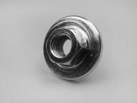 Flywheel nut M12 x 1.50 collar Ø=33mm h=4.5mm WS=17-OEM QUALITY- Vespa GS160 / GS4 (VSB1T), SS180 (VSC1T), Rally180 (VSD1T), Rally200 (VSE1T, Femsatronic)