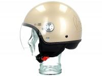 Helmet -VESPA Visor 3.0- beige eleganza (513A) - XS (52-54cm)