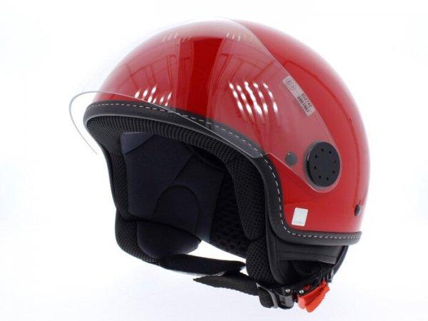 Helm -VESPA Visor 2- rot (Red Dragon) - XS (52-54cm)