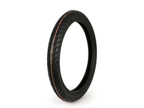 Tyres -MITAS MC2- 2 1/4-16, 2.25-16 (old designation 20x2.25) 38J TT Reinforced - Piaggio Ciao, Bravo, Simson SL1, Tomos Colibri, Quadro, Hercules Prima 4/5