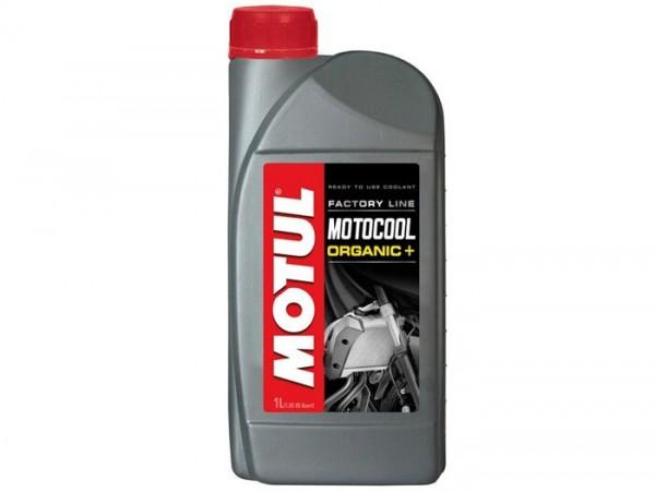 Refrigerante -MOTUL Motocool Factory Line ORGANIC- anticongelante hasta -35°C - 1000ml