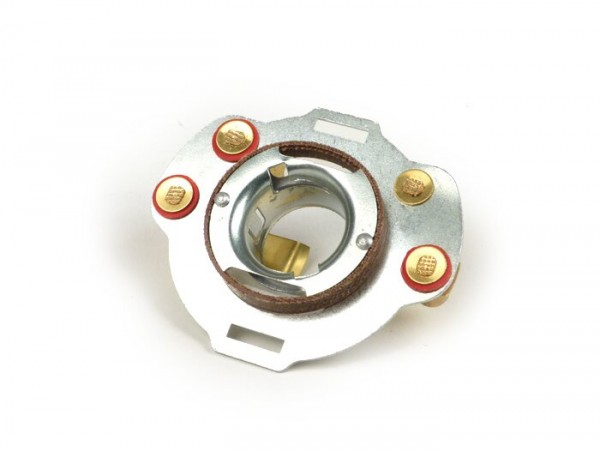 Headlight bulb holder -SIEM- Vespa Wideframe VN, VM, VL, VB, GS150 (VS1T, VS2T, VS3T, VS4T - GS3)