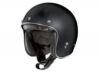 Helmet -X-LITE, X-201 Ultra Carbon Puro- open face helmet, matt carbon - XL (61-62cm)